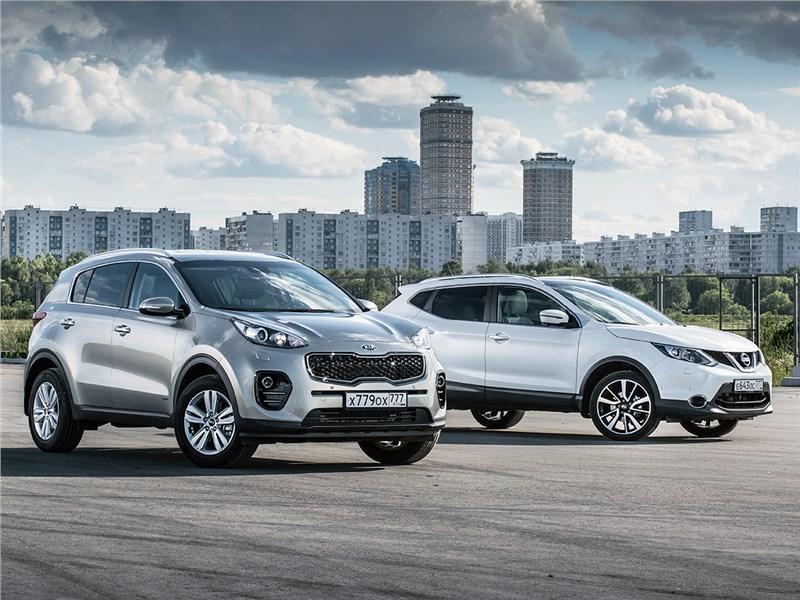 Что выбрать: классический Nissan Qashqai или элегантный KIA Sportage