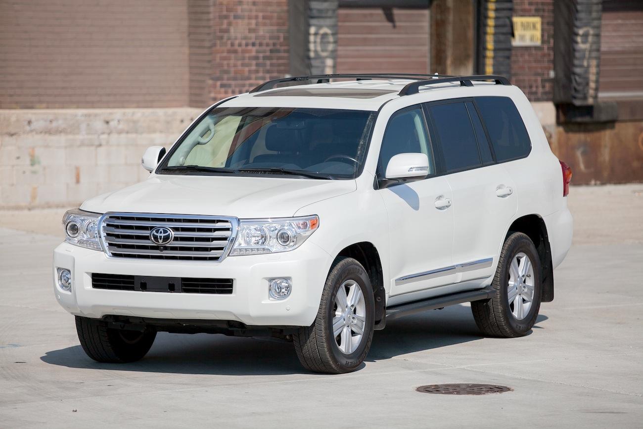 Toyota Land Cruiser внешний вид
